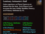 Luminary Animaster's Staff