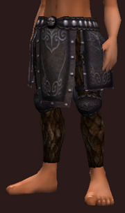 Saintly Vicar's Plate Greaves (Equipped)