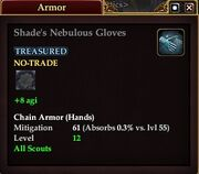 Shade's Nebulous Gloves