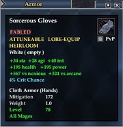 Sorcerous Gloves