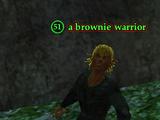 A brownie warrior