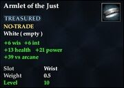 Armlet of the Just