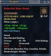 Bedeviled Bone Shank
