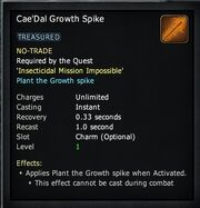 Cae'Dal Growth Spike