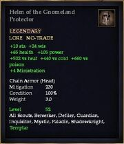 Helm of the Gnomeland Protector