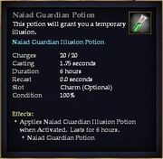 Naiad Guardian Potion