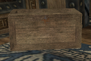Salesmans Crate Placed