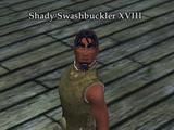 Shady Swashbuckler XVIII