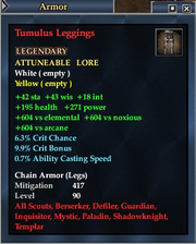 Tumulus Leggings
