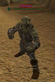 A Bloodskull treasure hunter