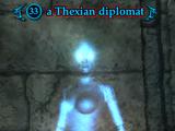 A Thexian diplomat