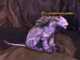 A corrupted mist panther