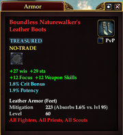 Boundless Naturewalker's Leather Boots