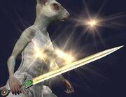Dark Fury Sword of Anuk (Equipped)