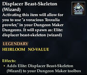 Displacer Beast-Skeleton (Wizard)