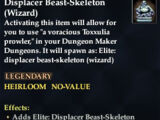 Displacer Beast-Skeleton (Wizard)