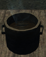 Hua mein cooking pot (Visible)