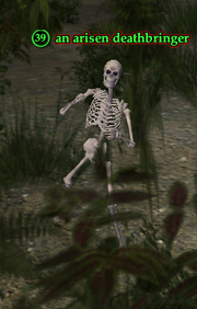 An arisen deathbringer