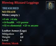 Blowing Blizzard Leggings