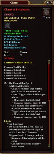 Charm of Bristlebane