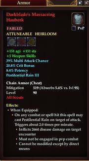 Darkblade's Massacring Hauberk