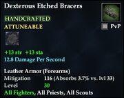 Dexterous Etched Bracers