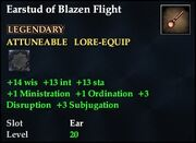 Earstud of Blazen Flight