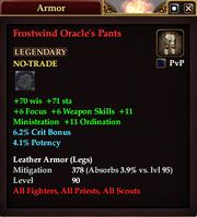 Frostwind Oracle's Pants