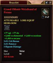 Grand Othmir Wristband of Prexus