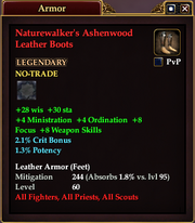 Naturewalker's Ashenwood Leather Boots