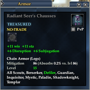 Radiant Seer's Chausses