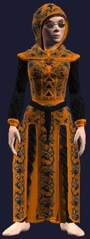 Robe of Dead Tidings (Equipped)