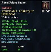 Royal Palace Drape