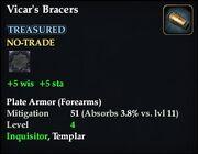 Vicar's Bracers