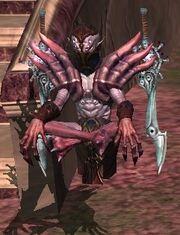 A Theerian shadowblade