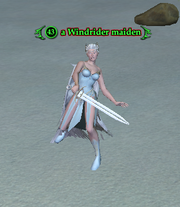 A Windrider maiden Icespire