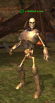 A defiled scout (Queen's Colony)