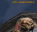 A mangled ulthork