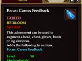 Focus: Caress Feedback
