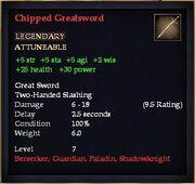 Chipped Greatsword