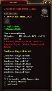 Crushbone Ringmail Gloves