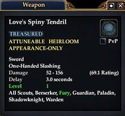 LoveTendrilExam