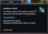 Onzolan crystal
