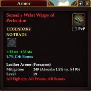 Sensei's Wrist Wraps of Perfection