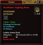 Skullhelm's Fighting Boots