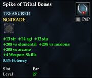 Spike of Tribal Bones