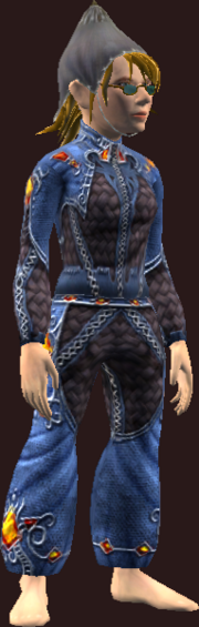 Vesspyr Citizens Blue Tunic (Equipped)
