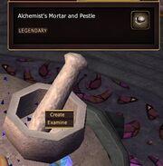 Alchemist's Mortar and Pestle