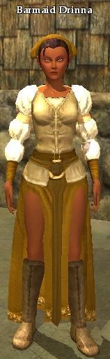 Barmaid Drinna