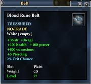 Blood Rune Belt